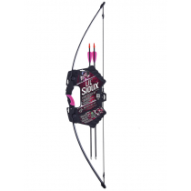 Barnett Lil Sioux Junior 15lb Recurve Archery Set Pink