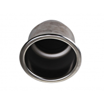 Stainless Flush Drink Holder with Drain Hole