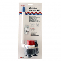 Rule 360GPH Portable Aerator Kit 12v