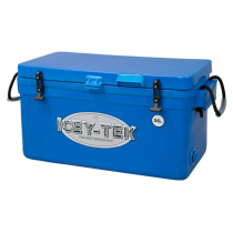 Icey-Tek Long Chilly Bin Cooler Blue