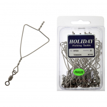 Longline Triangle Clips with Swivel 30kg Qty 25