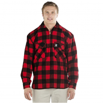 Swanndri Mens Ranger Pure Wool Shirt Red Black