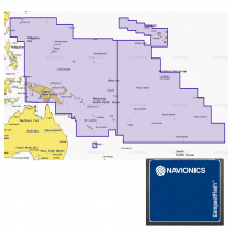 Navionics Plus 34XG Chart Card Pacific Islands CF Card