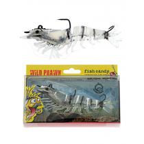 Fish Candy Wild Prawn Soft Bait 120mm Jelly Prawn
