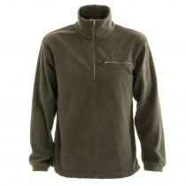 Ridgeline Microfleece Long Sleeve Zip Shirt Olive
