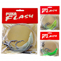 Gamakatsu Puka Flash Octopus Flasher Rig