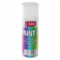 CRC Paint It Quick Dry Enamel Spray Paint 400ml White Gloss