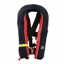 Baltic Winner 165N Automatic Inflatable Life Jacket with Harness Navy/Red 40-150kg