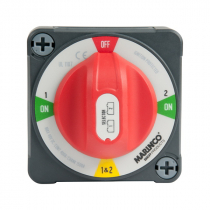 BEP Pro Installer 400A EZ-Mount Battery Selector Switch 1-2-Both-Off