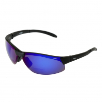 CDX Bi-Cyclo Smoke Polarised Bifocal Sunglasses Blue Revo Frame