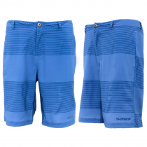 Shimano Striped Quick-Dry Board Shorts Blue