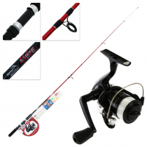 Jarvis Walker Red Bone Junior Light Spinning Combo with Tackle 6ft 3-6kg 2pc