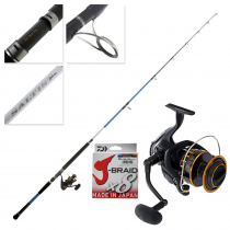 Daiwa BG16 6500 and Saltist Hyper 8ft Stickbaiting Combo with Braid