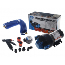 Jabsco HotShot Automatic Washdown Pump Kit 4.0GPM 12V