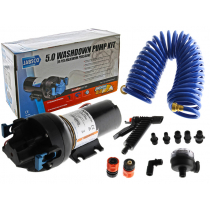Jabsco HotShot Automatic Washdown Kit 12V 19L 70PSI