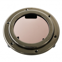 VETUS PQ51 Round Stainless Steel Porthole with Mosquito Screen