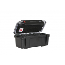 Underwater Kinetics 307 UltraBox Clear/Black with Lid Pouch and Padded Liner