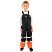 Betacraft Kids Tuffbak Flex Bib Overtrouser Navy/Orange