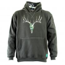 Ridgeline Mens Deer Hoodie Olive S