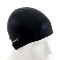 Aropec Adult Silicone Swim Cap Black