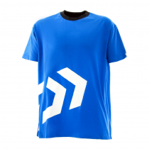 Daiwa Short Sleeve T-Shirt Blue/White