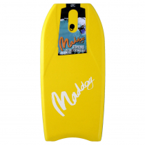 Maddog Epic Bodyboard 37in Yellow