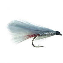 Black Magic Grey Ghost Trout Fly Size A08 Qty 1