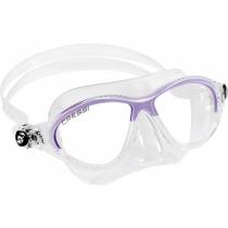 Cressi Moon Jr Snorkeling Dive Mask Clear/Lilac