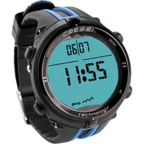 Cressi Newton Titanium Watch Dive Computer Black/Blue