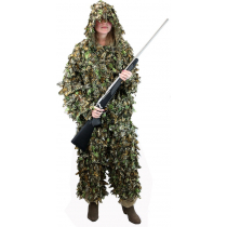 Outdoor Outfitters Ghillie Suit Leaf 3D Woodland Size M-L