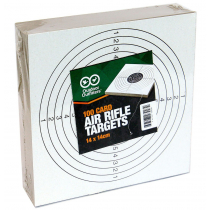 Outdoor Outfitters Heavy Card Targets 100 Pack 140mm X 140mm