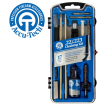 Accu-Tech 17-Piece Cleaning Kit for .22 / .223 Calibre Firearms