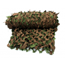 Game On Woodland Camo Net with Cram Bag 2.4 x 3m
