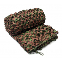 Outdoor Outfitters Game On Woodland Mesh Backing Camo Net 6x3m