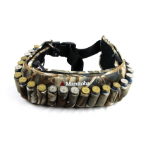 Manitoba Clothing Shotshell 25 Round Camo Ammo Belt