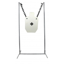King Gong Silhouette Steel Gong Target and Stand Set