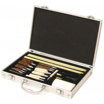 Outdoor Outfitters Universal Cleaning Kit .17-12GA 26 Piece Alloy Case