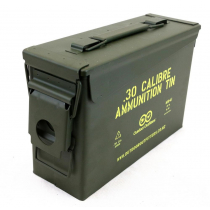 Outdoor Outfitters 30Cal Ammunition Tin No Latch X1