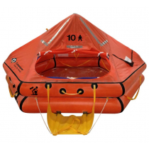 Crewsaver 6-Man ISO Ocean Offshore Life Raft Over 24hr Valise