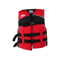 Aropec Youth Life Jacket Vest Black Red