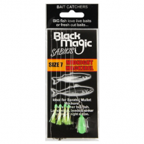 Black Magic Bait Sabiki Midnight Mackerel #7