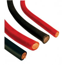 VETUS Battery Cable Black PVC Cover - Per Metre