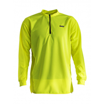 Swazi Quick-Dry High Vis Long Sleeve Shirt Fluoro Yellow Small