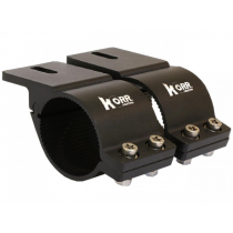 Hard Korr Bull Bar Brackets 60-65mm Black