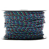 Donaghys Superspeed Cruising Braid Rope 3mm x 1m Hotdog/Black Fleck