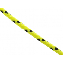 Donaghys Superspeed Braid Rope 4mm Fluoro Yellow/Black Fleck - Per Metre