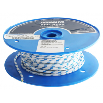 Donaghys Yachtmaster XS Cruising Braid Rope Blue Fleck - Per Metre