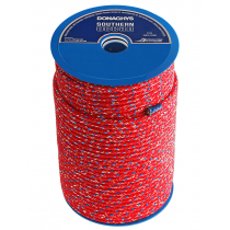Donaghys Super Swift12 Dinghy Rope Red Mottle 6mm x 1m