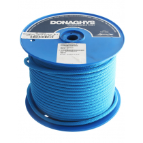 Donaghys Yachtmaster Brights Yacht Braid Rope 10mm x 1m Blue