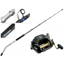 Daiwa Tanacom 1000 U Power Assist and GW56HFD Grandwave Electric Game Combo 5ft 6in 60-150lb 2pc
